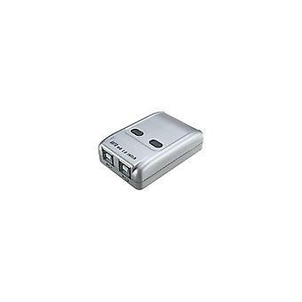 2-poorts Usb 2.0 Auto Printer Sharing Switch HUB Selector Switcher voor printerscanner HM
