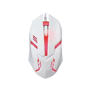 1000DPI USB Cablato CABLATO LED Retroilluminazione Gaming Computer Mouse PC Ufficio portatile