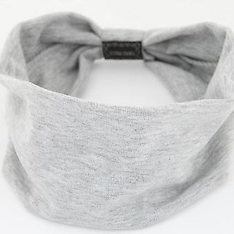 Big Wide Cotton Headband for Women Hair Accessories Fashion Solid Color Hairbands Korean Soft Head