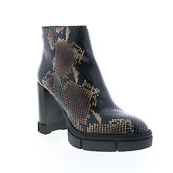 Aquatalia Adult Womens Iola Snake Print Ankle & Booties Boots