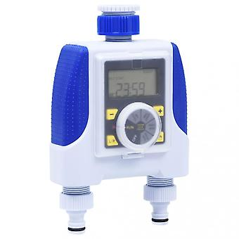 Chunhelife Electronic Dual Outlet Water Timer With Rain Delay
