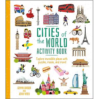 Cities of the World Activity Book by Gemma Barder