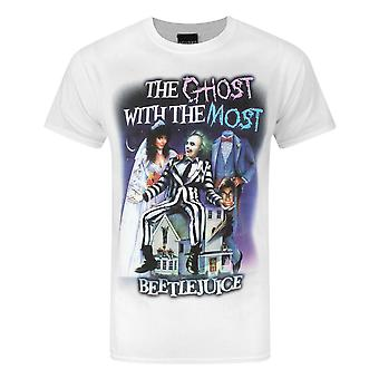 Beetlejuice Mens Ghost With The Most T-Shirt