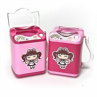 Mini lavatrice elettrica - Trucco in spugna cosmetica e pennelli Giocattolo più pulito