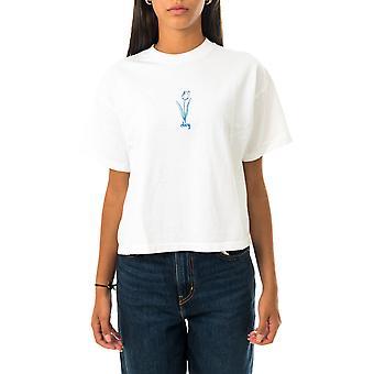 T-shirt donna obey tulip custom crop tee 267621988.wht