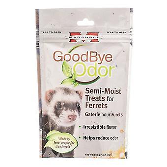 Marshall Goodbye Odor Semi-Moist Treats for Ferrets - 2.5 oz