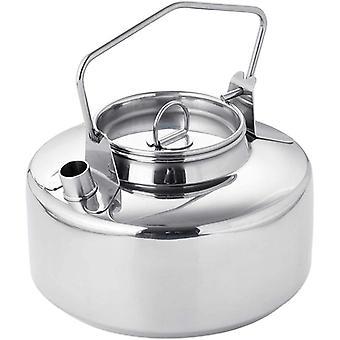 Hervidor de agua de 1 litro ideal para hervir agua para té, comidas para mochileros liofilizado portátiles para viajes