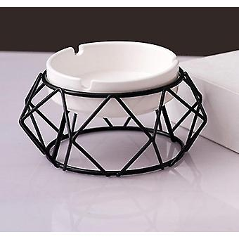 Ashtrays hollow out ash tray desktop decor for home office car|ashtrays