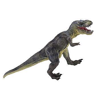 Jurassic Tyrannosaurus Rex Dinosaur Model Large Solid Simulated  Toys 30X13X5Cm|Action Figures