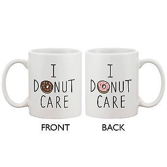 Søde morgenmad kaffe krus - jeg Donut pleje sjove keramiske 11oz kaffe krus Cup