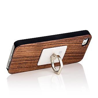 Metallring utmärker telefonhållare - Silver