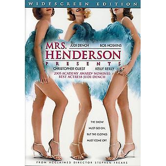Mrs. Henderson Presents [DVD] USA import