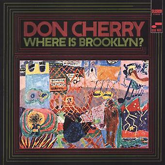 Don Cherry - Where Is Brooklyn? [CD] USA import