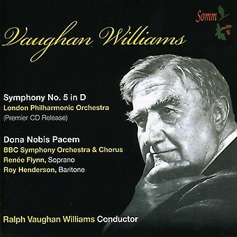 Vaughan Williams - Vaughan Williams: Symphony No. 5; Dona Nobis Pacem [CD] USA import