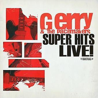 Gerry & Herzschrittmacher - Super Hits Live! [CD] USA import