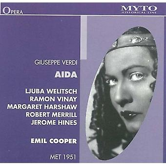Verdi / Welitsch - Aida: Welitsch-Vinay-Harshaw [CD] USA import