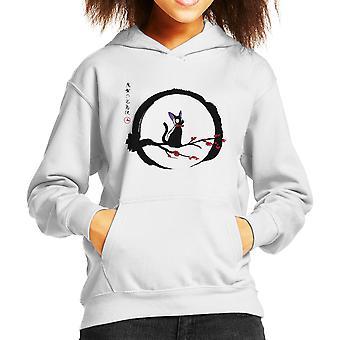 Jiji sous Hooded Sweatshirt la lune Studio Ghibli enfant