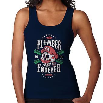Plumber Forever Mario Super Mario Bros Women's Vest