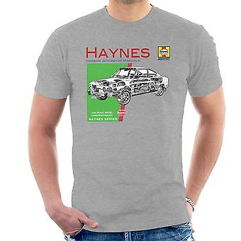 Haynes Owners Workshop Manual 0303 Skoda 110R Men's T-Shirt