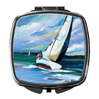 Carolines schatten JMK1232SCM twee en een zeilboot Compact spiegel
