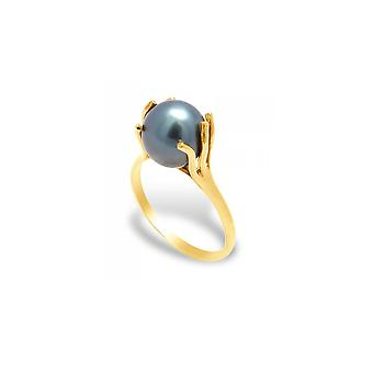 Tahiti A Pearl Women's Ring and Yellow Gold 375/1000 4691