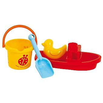 Gowi Toys Sand Set Boat Bath Water Toys