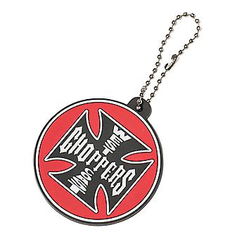 West Coast choppers Keychain key chain PVC