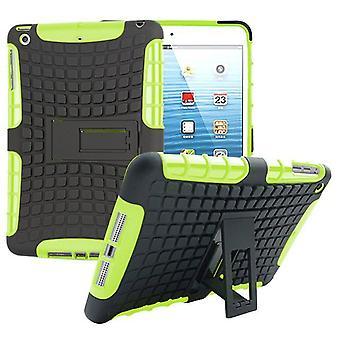 Hybridi ulkouima suojakotelo tapauksessa Grün Apple iPad 2 / 3 / 4 tasku