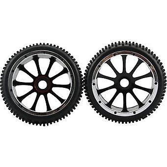 Amewi 1:5 Buggy Wheels Multipin 10-spoke Black 1 Paire