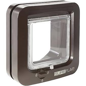 SureFlap Mikrochip Cat door Pet door flap Brown 1 pc(s)