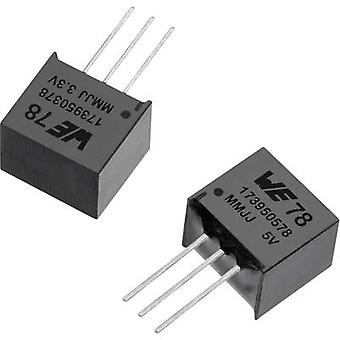 Würth Elektronik WPMDL9500501S DC/DC-Wandler (SMD) 3,3 V DC 0,5 A Nr. der Ausgänge: 1 x