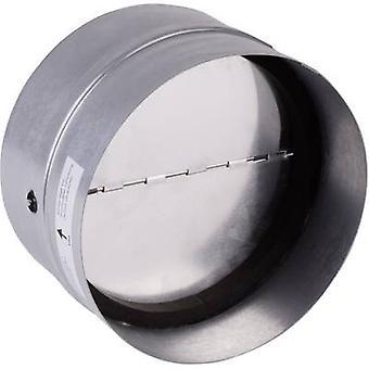 Wallair N35984 Achterstroom klep incl. rubberen afdichting geschikt voor buisdiameter: 12,5 cm verzinkt