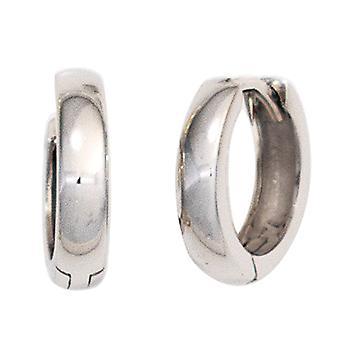 Cerceaux autour de pneus oreille 375 or or blanc boucles d'oreilles clétage 11,7 mm