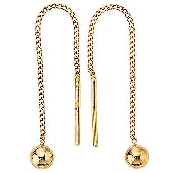 Durchzieh-Ohrhänger 333/-G Ohrringe gold Chandeliers gold