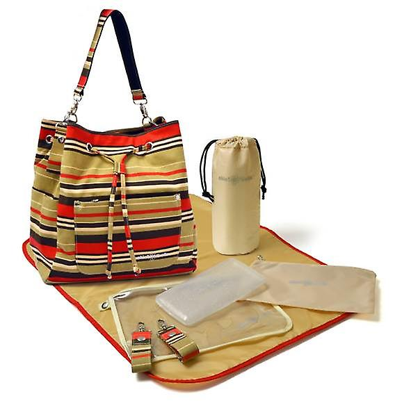 Chic 'O' bello Lausanne Change Bag Back Pack Stripe