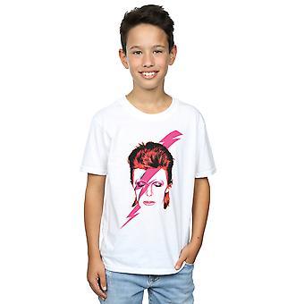David Bowie niños Aladdin Sane relámpago perno t-shirt