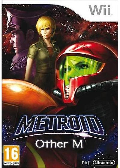 Metroid Other M Nintendo Wii Game