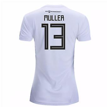 2018-19 Tyskland hjem Women 's skjorte (Muller 13)