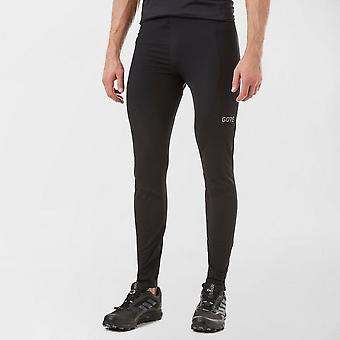 New Gore Men's C3 Thermo Running Training Fitness Tights Black