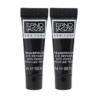 Erno Laszlo Transphuse Eye Refiner 0.03oz/1ml New Travel Size (Pack Of 2)
