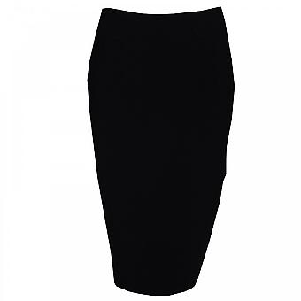 Tuzzi Knee Length Skirt With Stitch Highlights