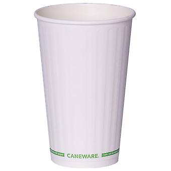 Caneware Double Wall Bagasse Cups 16oz