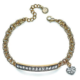 Oliver Weber Bracelet Trust Gold Crystal