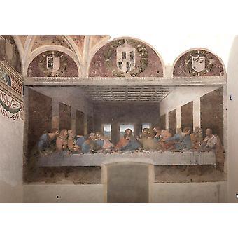 Last Supper, LEONARDO da Vinci, 35.3 x 73.9 cm