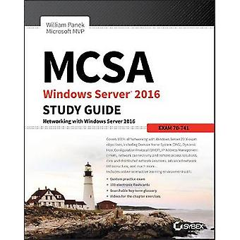 MCSA Windows Server 2016 Studienführer - Prüfung 70-741 von William Panek-