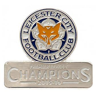 Leicester City FC Champions Badge