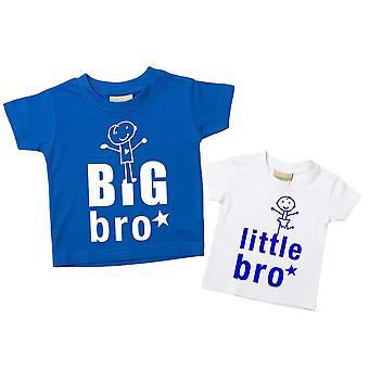 Big Bro Little Bro Tshirt Set