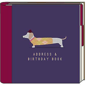 Adresse du chien saucisse Artfile & livre anniversaire