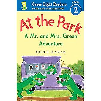 En el parque: un Sr. y la Sra. Green Adventure (lectores luz verdes nivel 2)