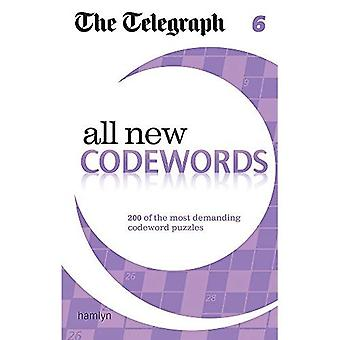 The Telegraph: All New Codewords 6 (The Telegraph Puzzle Books)